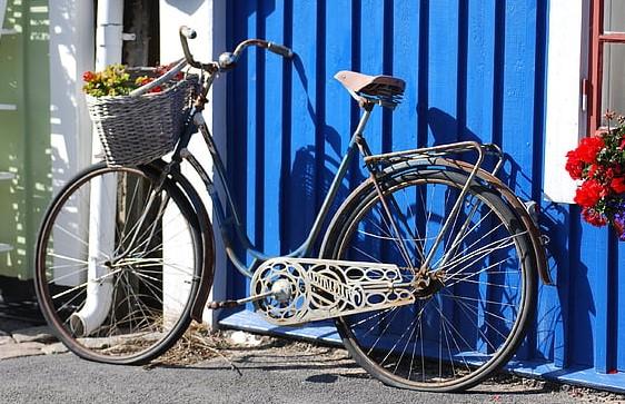 Step through bicycle